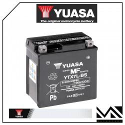 BATTERIA YUASA YTX7L-BS YAMAHA 125 YBR 4T