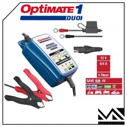 MANTENITORE DI CARICA BATTERIE ACIDO LITIO AGM OPTIMATE 1 DUO