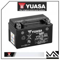 BATTERIA YUASA YTX7A-BS APRILIA 450 RXV