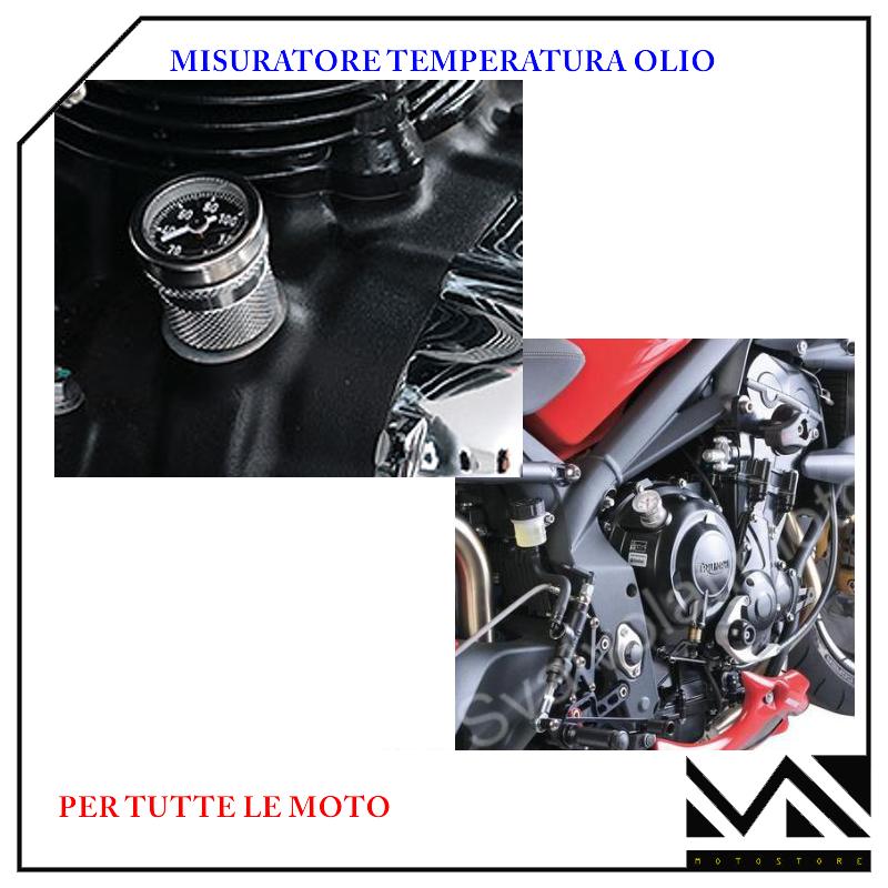 MISURATORE TEMPERATURA OIL 10035377 SOSTITUISCE TAPPO OLIO HONDA XL 600 R
